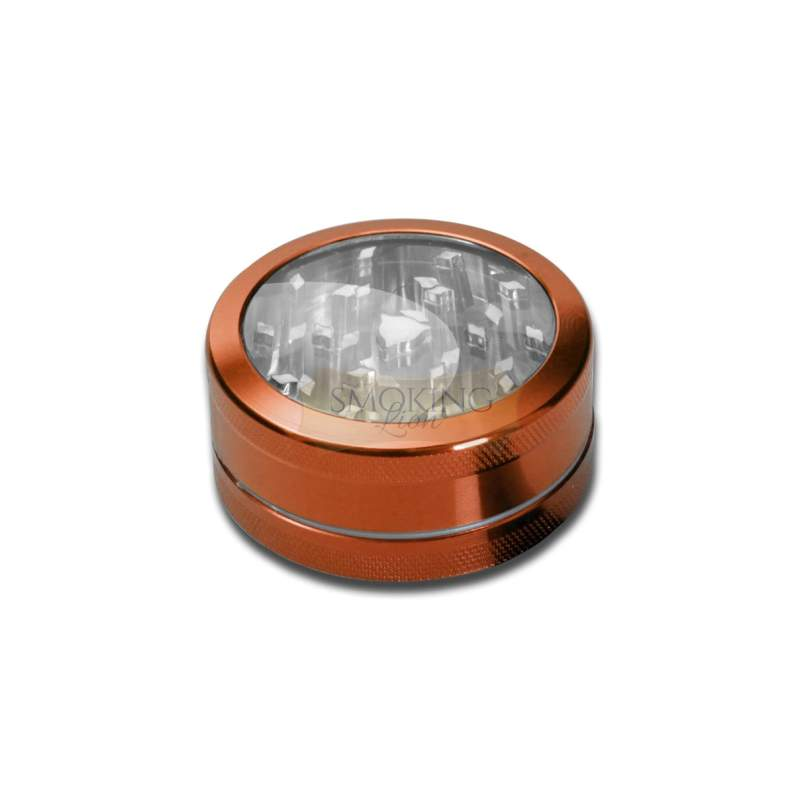 Fenster Grinder 2-tlg. anodisiert, Orange